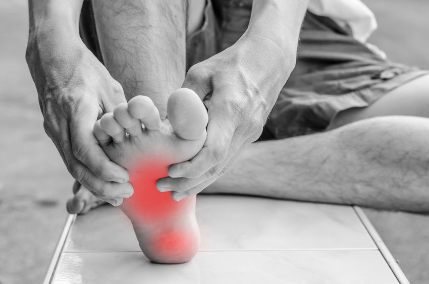PLANTAR FASCIITIS – Just When You Wish You Could Fly.