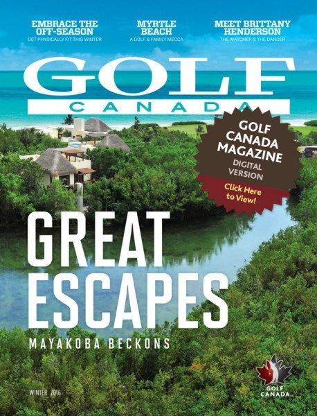 Spring Golf Canada Magazine